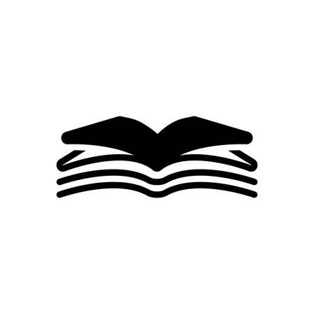 Icon for open book,open,book Vettoriali