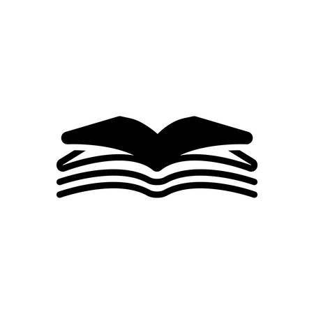 Icon for open book,open,book