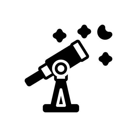 Icon for telescope,astronomy