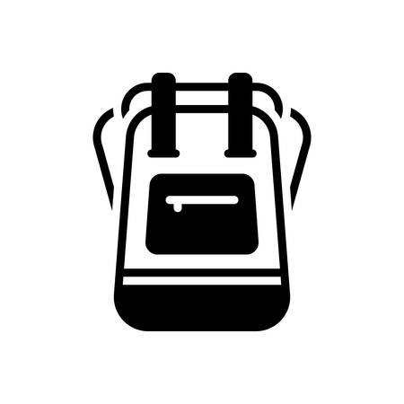 Icon for backpack,student