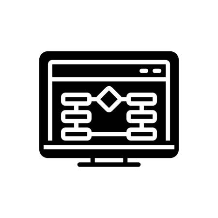 Icon for website algorithm,application