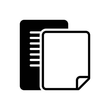Icon for document,pagenumber