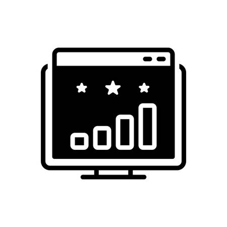 Icon for website ranking,website,ranking 向量圖像
