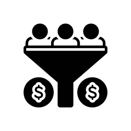 Icon for sales funnel,sales,funnel