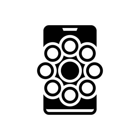 Icon for social channels,social,channels
