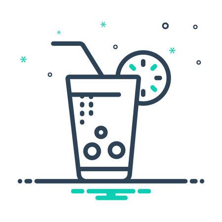Soft drink  icon Çizim