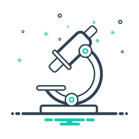 Microscope instrument icon