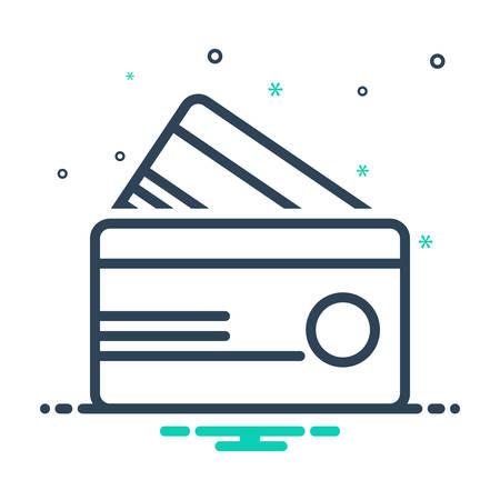 Credit card icon 向量圖像