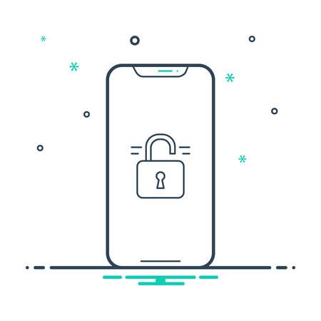 Unlocked Phone icon
