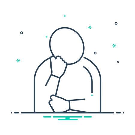 Extreme fatigue icon
