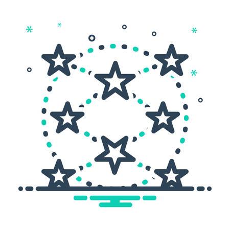 Icon for everywhere,ubiquitously Ilustração