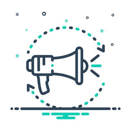 Icon for promos ,promotion Ilustração