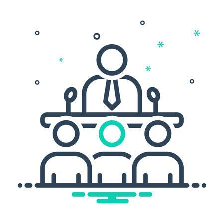 Icon for team,speak