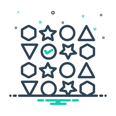 Icon for variety ,diversity