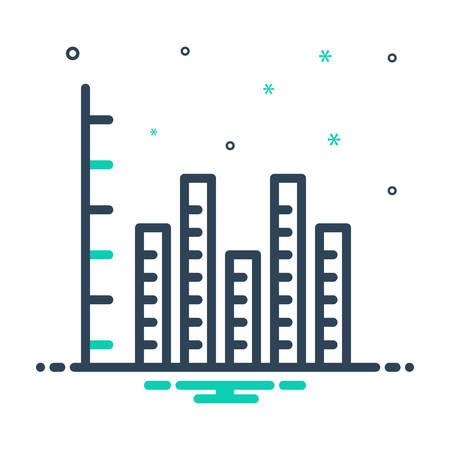 Icon for rank,tracking Ilustração