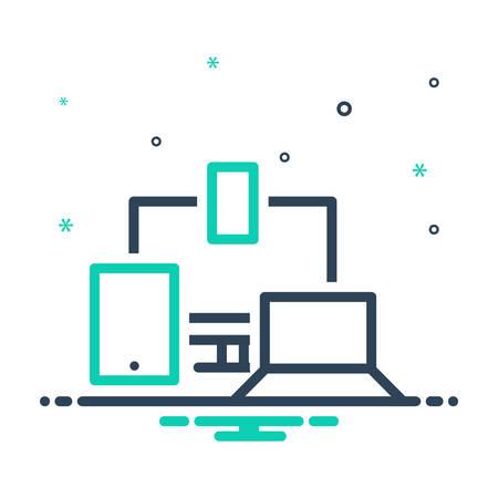 Icon for responsive,design Ilustração