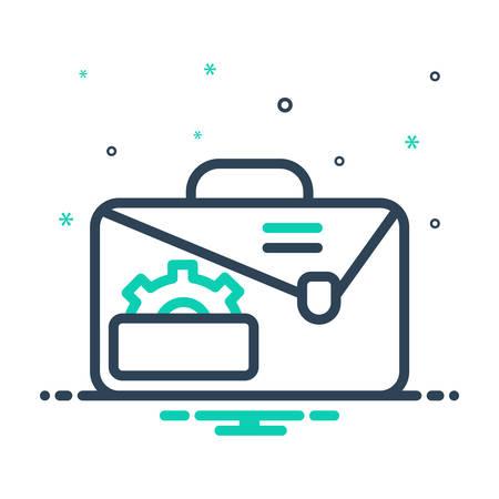 Icon for service,portfolio