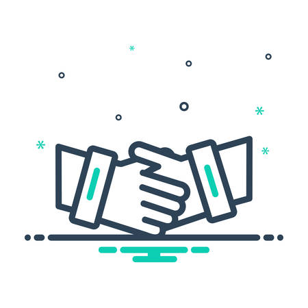 Icon for partnership,collaboration
