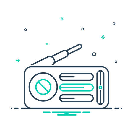 Icon for radio,music