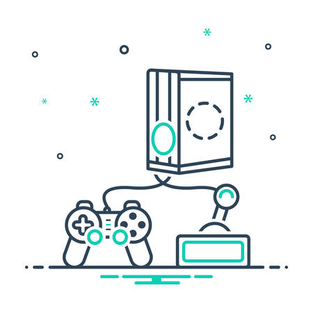 Icon for games,console
