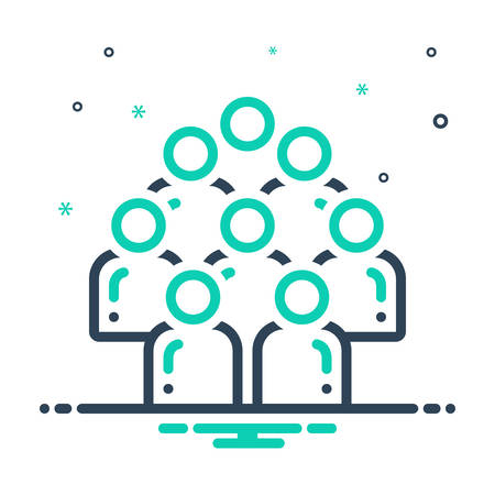 Icon for Multitude, crowd
