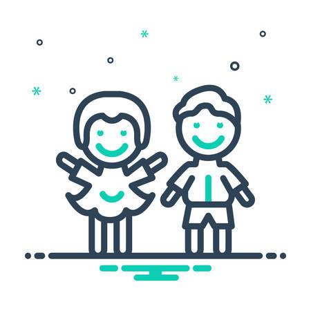 Icon for Children,kids