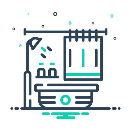 Icon for Bathroom, bathtub