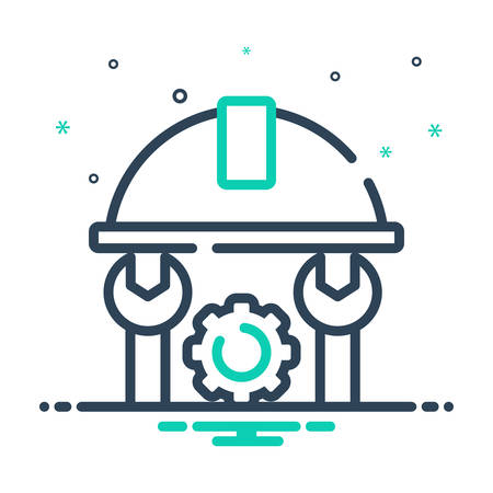 Icon for Engineer,tool 일러스트