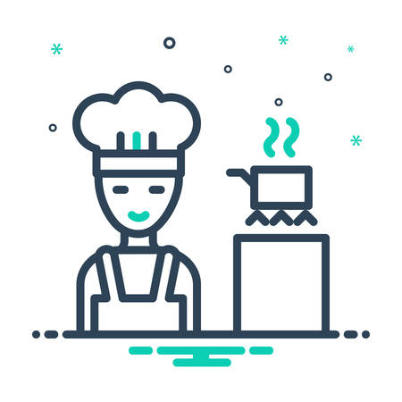 Icon for Cooking,apron 일러스트