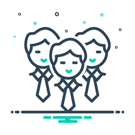 Icon for Staff,people 일러스트