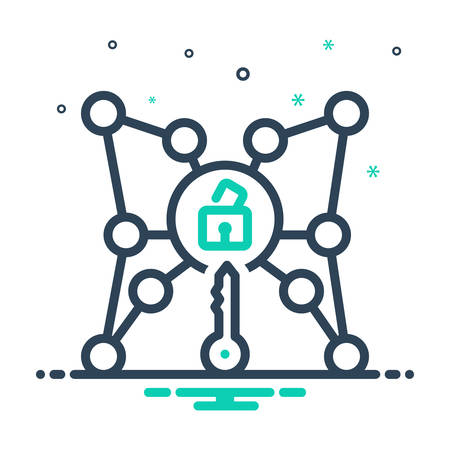 Icon for access,reach