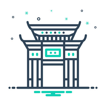 Icon for chinatown,china