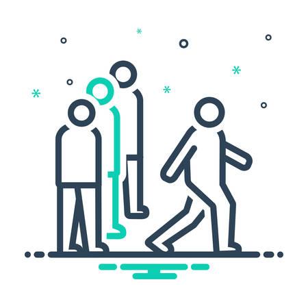 Icon for competitiveness,rivalry