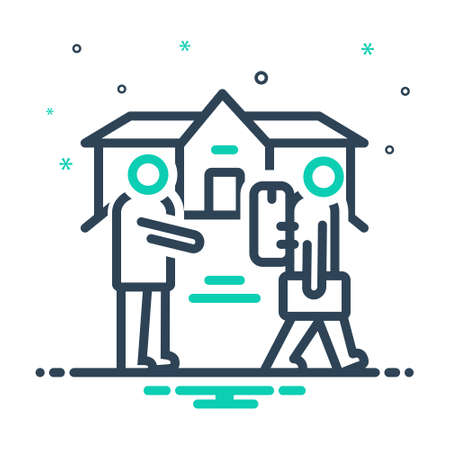 Icon for eviction,removal