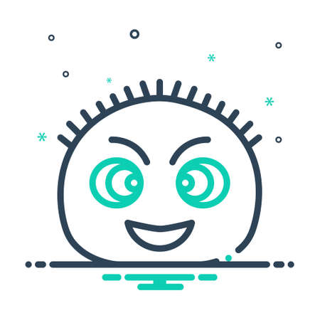 Icon for fuzzy,frizzy