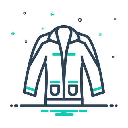 Icon for clothing,dress 向量圖像