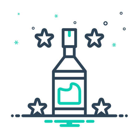 Icon for bottle,transparent