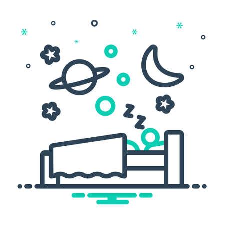 Icon for sleep,slumber