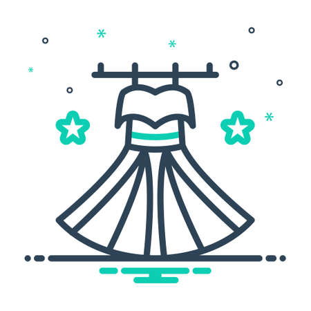 Icon for dress,costume