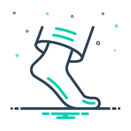 Icon for foot,leg