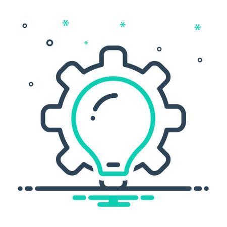 Icon for misfit,useless Illusztráció