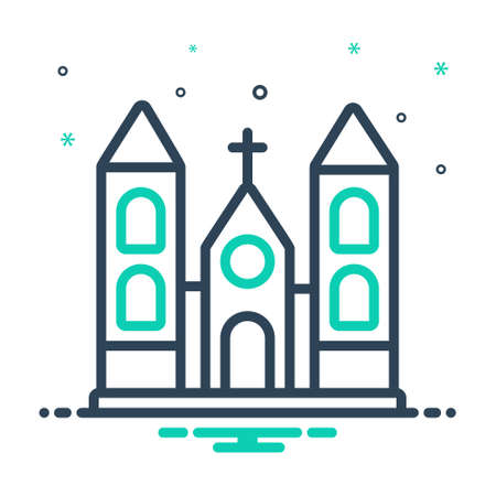 Icon for church, holy