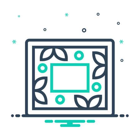 Icon for frame, photo-frames