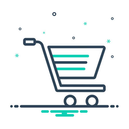 Icon for shopping,cart