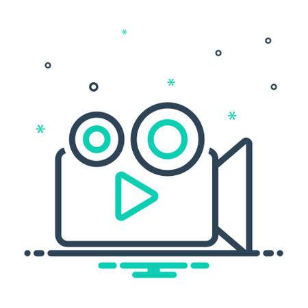Icon for movie,cinema Ilustração