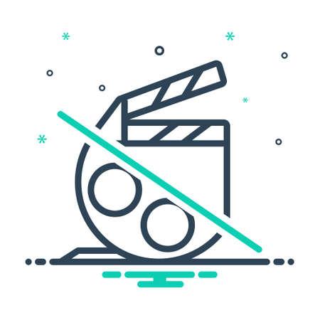 Icon for film,movie