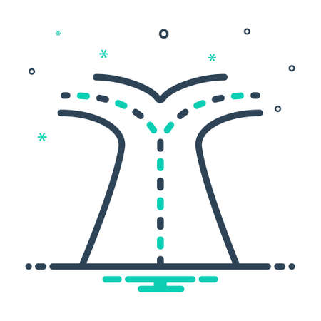 Icon for options,infographics Vettoriali
