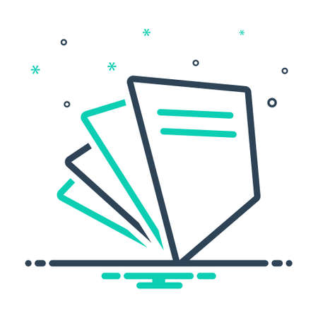 Icon for paperfree ,document