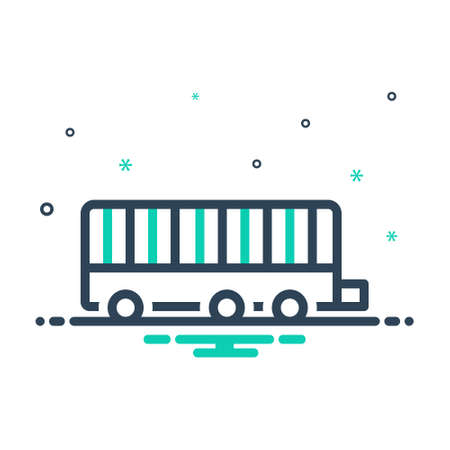Icon for trailer,truck