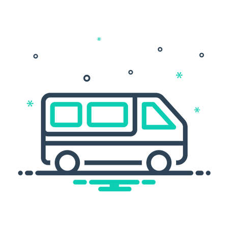 Icon for van,transport